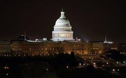 US-Kapitol, das II aufbaut Stockfoto