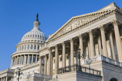 US-Kapitol-Gebäude Lizenzfreie Stockfotos