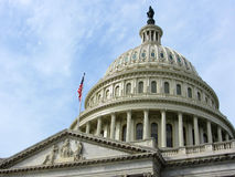 US-Kapitol-Gebäude, Washington DC Lizenzfreie Stockfotografie