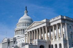 US-Kapitol-Gebäude im Washington DC Stockbilder