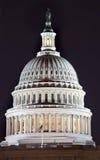 US-Kapitol-Haube-NachtWashington DC Stockfotografie