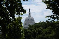 US-Kapitol im Washington DC Stockfotos