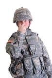 US-Lötmittel-Sicherheitssignal Lizenzfreie Stockbilder