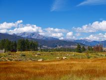 US landscape. Colorful landscape of USA nature in Colorado Royalty Free Stock Image