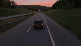 US-Landschafts-Antenne stock video