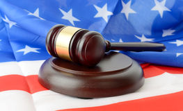 US law Royalty Free Stock Photos