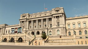 The US Library of Congress stock video