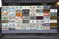 US License Plates Royalty Free Stock Image