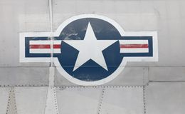 US-Luftwaffe-Insignien stockfotos