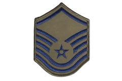 US-Luftwaffe-Sergeantrang Lizenzfreies Stockfoto
