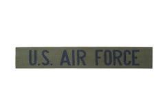 US-Luftwaffe-Uniformausweis Lizenzfreies Stockfoto