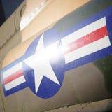US-Luftwaffe-Zeichen Lizenzfreie Stockfotografie