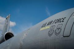 US-Luftwaffen-Flugzeug Lizenzfreie Stockbilder