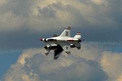 US-LuftwaffeThunderbirds Lizenzfreies Stockbild