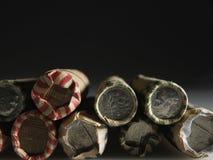 US-Münze Rolls Lizenzfreies Stockfoto