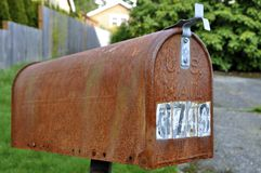 US Mail Box Royalty Free Stock Photography