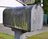 US Mail Box Royalty Free Stock Image