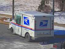 US Mail Truck Stock Image