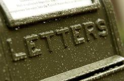 US mailbox Royalty Free Stock Photo