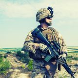 US marine Royalty Free Stock Photo