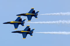 US-Marine-blaue Engel Airshow lizenzfreie stockfotografie