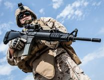 US marine Stock Images