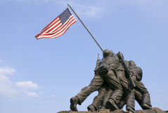 Free US Marine Corps War Memorial Royalty Free Stock Images - 5330939