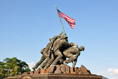 US Marine Corps War Memorial Stock Images