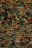 US marine force marpat digital camouflage fabric texture Royalty Free Stock Photo