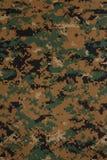 US marine force marpat digital camouflage fabric texture. Background royalty free stock photo