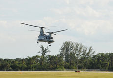 US marine transport helicopter Stock Photography