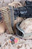 US-Marinehintergrundkonzept Lizenzfreies Stockfoto