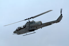 US Marines Attack Helicopter Royalty Free Stock Photography