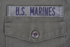 US Marines background Stock Photo