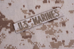US  Marines concept Royalty Free Stock Photos