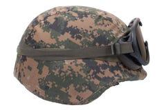Us marines kevlar helmet Royalty Free Stock Photos