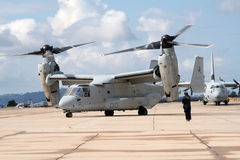 US Marines Osprey Royalty Free Stock Images