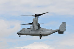 US Marines Osprey Til Rotor Stock Photo