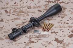 US MARINES sniper concept Royalty Free Stock Image