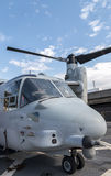US Marines Tiltrotor Aircraft Royalty Free Stock Photography