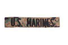 US MARINES uniform badge Stock Photo