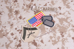 US Marines Royalty Free Stock Photography