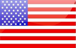 US-Markierungsfahne Lizenzfreie Stockbilder