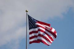 US-Markierungsfahne Lizenzfreie Stockfotos