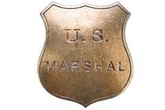 Old West Police Marshal brass star Badge: U.S Lawman