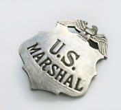 US Marshall Badge Royalty Free Stock Photo