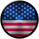 US Metallic Button Royalty Free Stock Photography