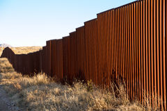 US-Mexico Border, Sasabe, AZ Royalty Free Stock Photo