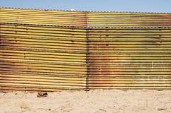 US Mexico Border Royalty Free Stock Photography