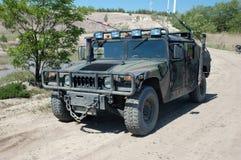 US-Militärfahrzeug-Hummer Stockfotografie